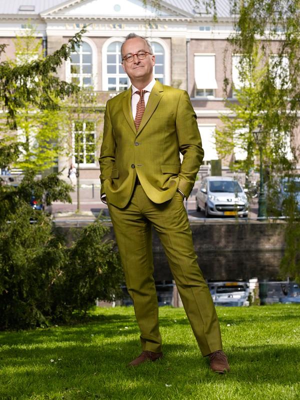 Portret Hendrik Kaptein, Leidse Universiteit