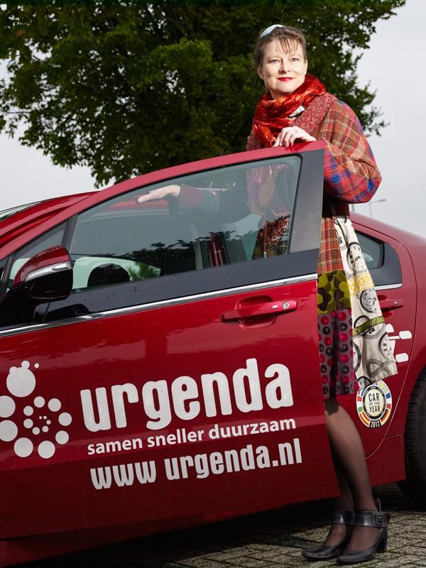 Portret Marianne Minnesma, Urgenda