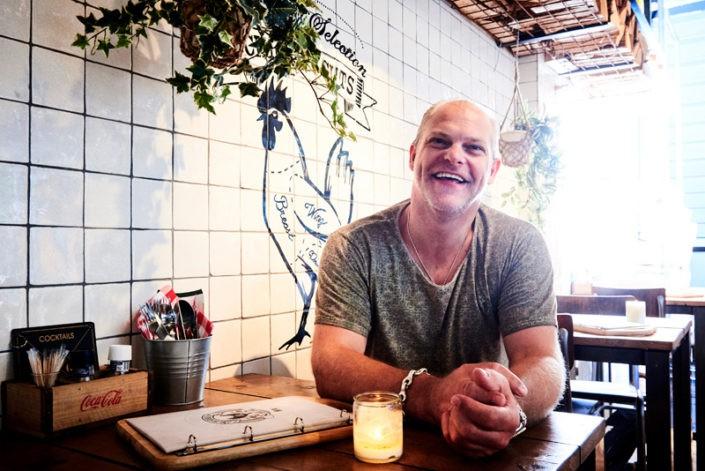 Giel Jongejan voor Sligro magazine, Horeca Helden Rotterdam