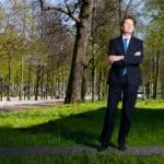 Foto van Rob van Wijk, directeur van het Den Haag Centrum voor Strategische Studies
