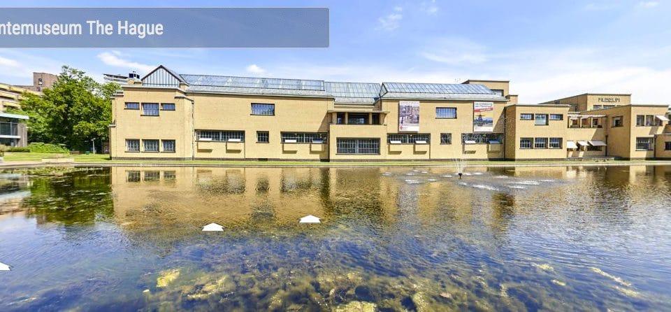 ondersteunende foto bij bericht over de panoramafoto van het Gemeentemuseum Den Haag