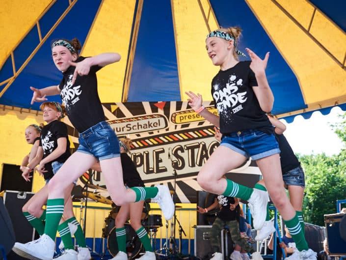 Optreden bij People Stage tijdens Parkpop, Den Haag