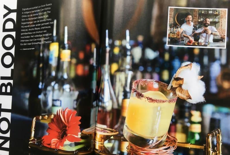 The Stirr in Rotterdam in een publicatie van Entree Magazine