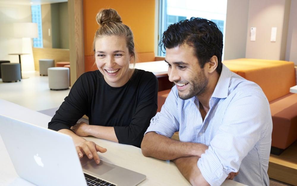 Foto van werknemer Nationale-Nederlanden voor wervingscampagne IT-ers