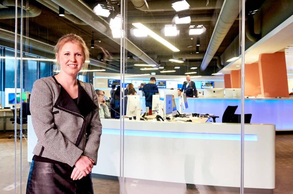 Marjolijn Jaarsma, woordvoerder economie, CBS Den Haag
