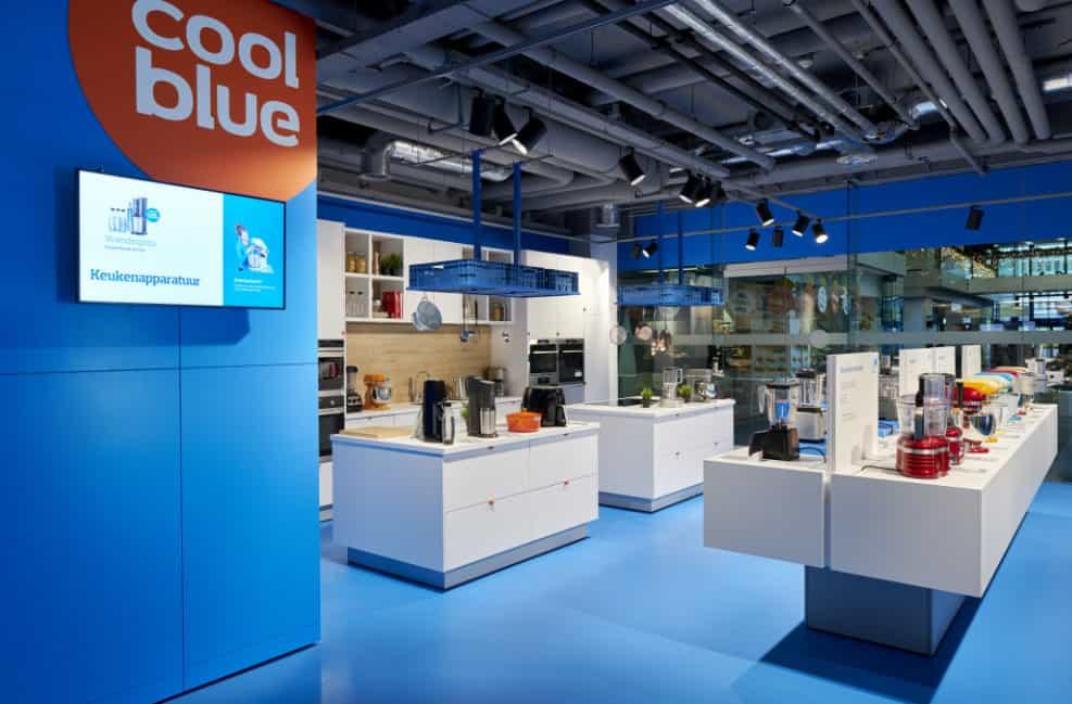 Voor de portfolio van Desarc maakte ik foto's van de nieuwe winklel van Coolblue in Den Haag