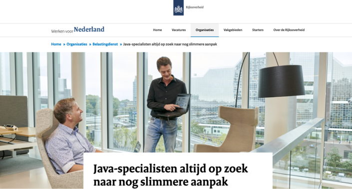 Reportagefoto Rijksoverheid